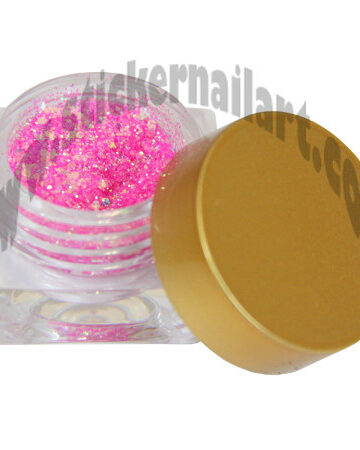Paillettes brillantes rose Hollywood